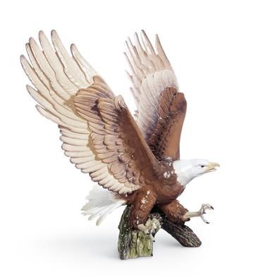 Justice Eagle Lladro Figurine