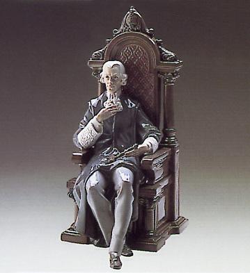 Justice Lladro Figurine