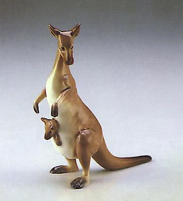 Kangaroo Lladro Figurine