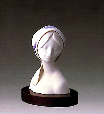 Kerchiefs Lady(b) Lladro Figurine