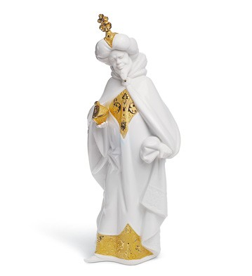 King Balthasar (re-deco) Lladro Figurine