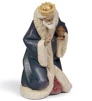 King Melchior Lladro Figurine