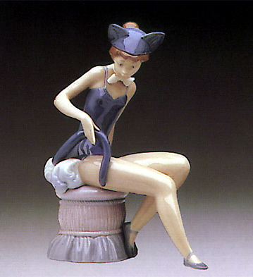 Kitty Girl Lladro Figurine