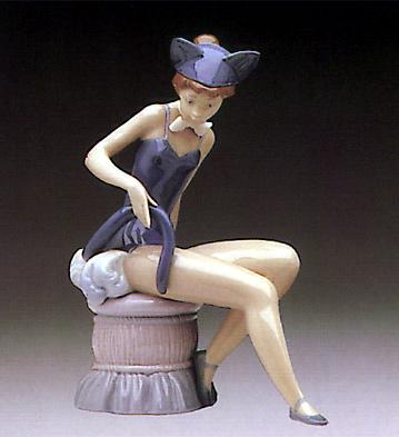 Kitty Girl Lladro Figurine