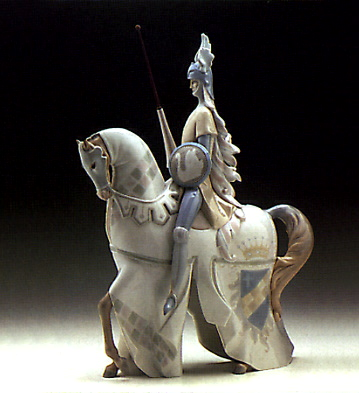 Knight Lladro Figurine