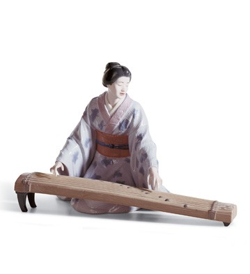 Koto Player Lladro Figurine