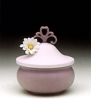 Kublay Sweet Box, Violet Lladro Figurine