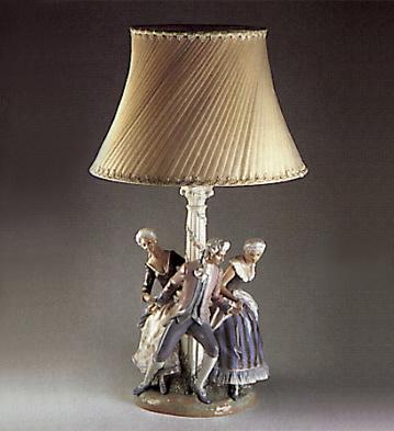La Tarantela (lamp) Lladro Figurine