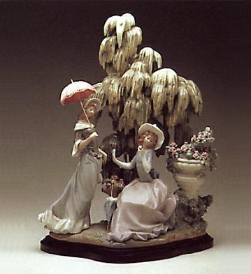 Ladies At Willow -b- Lladro Figurine