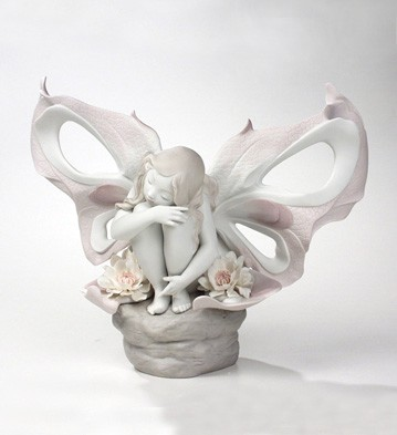 Lady Butterfly Lladro Figurine
