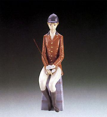 Lady Equestrian Lladro Figurine