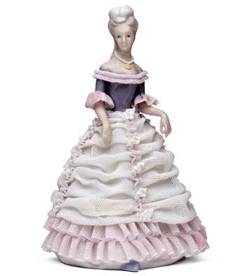 Lady In Blue Lladro Figurine