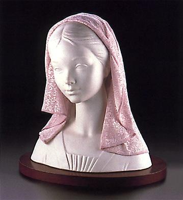 Lady With Mantilla(b) Lladro Figurine