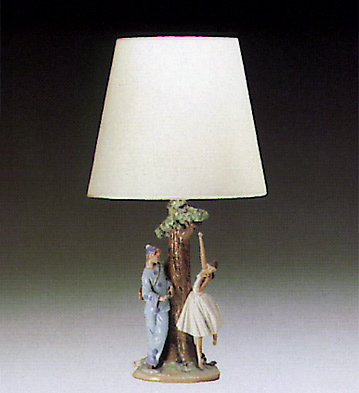 Lamp-ballet Theme Lladro Figurine