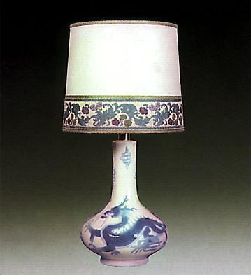 Lamp Jug Dragons Lladro Figurine