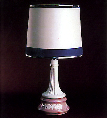 Lamp. Minerva Lladro Figurine