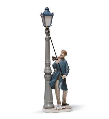 Lamplighter Lladro Figurine