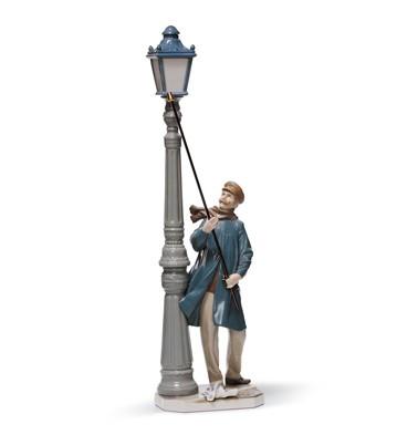Lamplighter Lladro Figurine