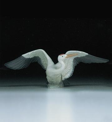 Landing Crane Lladro Figurine