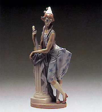 Languid Clown Lladro Figurine
