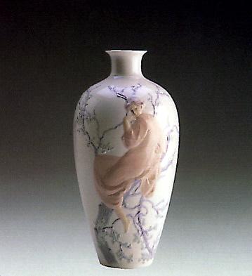 Large Tree Of Life Vase Lladro Figurine