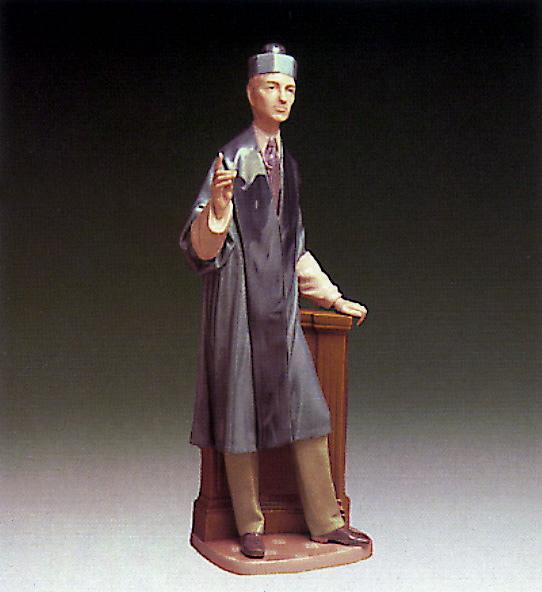 Lawyer Lladro Figurine