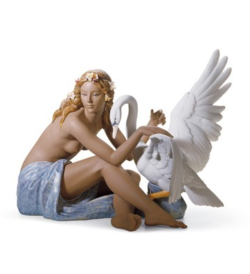 Leda And The Swan Lladro Figurine