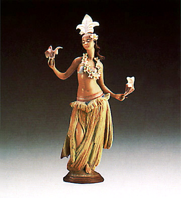 Lehua Lladro Figurine