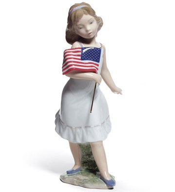 Let Freedom Ring! Lladro Figurine