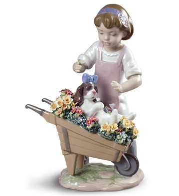 Let's Go For A Ride Lladro Figurine