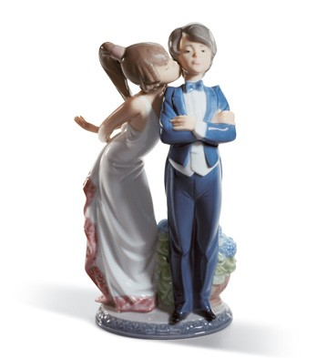 Let's Make Up Lladro Figurine