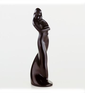 Life (ebony Look) Lladro Figurine