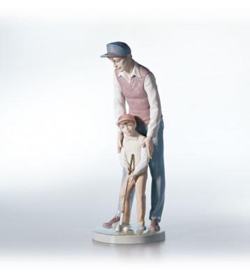 Like Father, Like Son Lladro Figurine