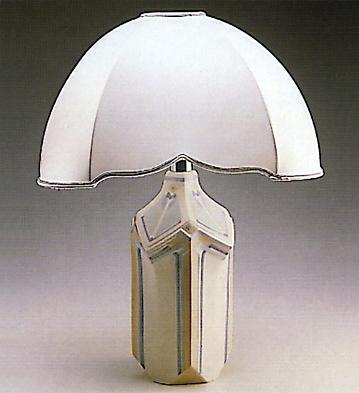 Lily Vase-lamp. Lladro Figurine