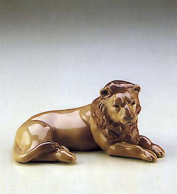 Lion Lladro Figurine