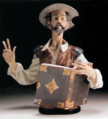 Listen To D.quixote (l.e. Lladro Figurine