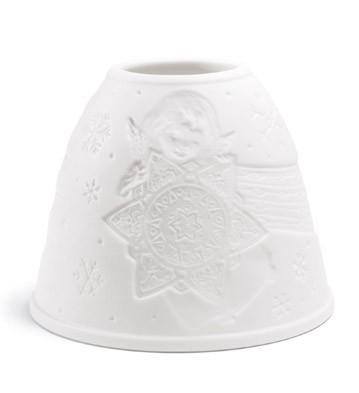 Lithophane Shade - Angel With Star Lladro Figurine