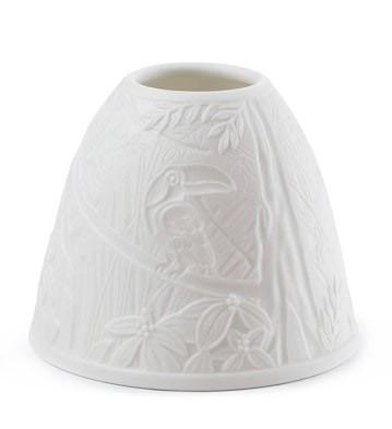 Lithophane Shade - Toucans Lladro Figurine