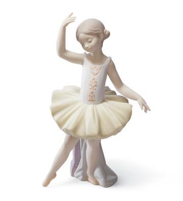 Little Ballerina Ii Lladro Figurine