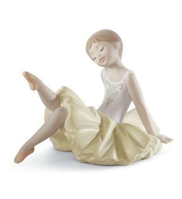 Little Ballerina Iii Lladro Figurine