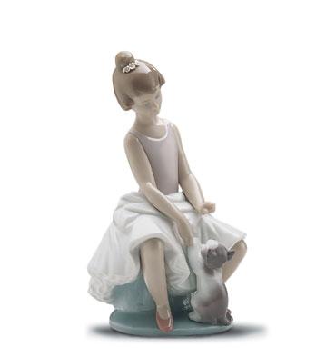 Little Ballerina Lladro Figurine