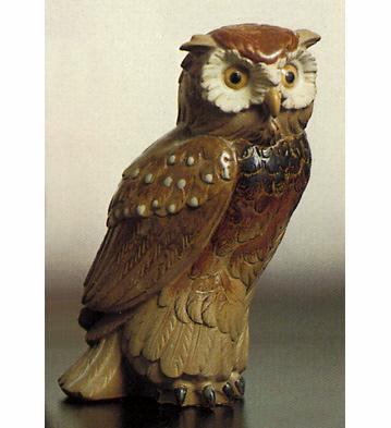 Little Eagle-owl Lladro Figurine