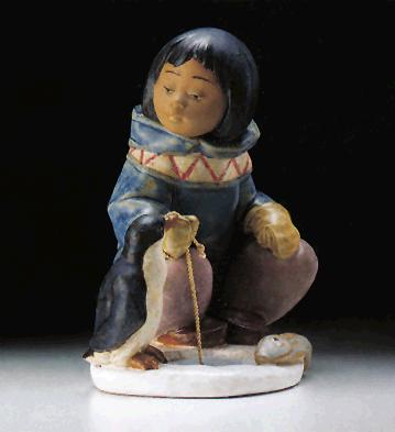 Little Fisherman Lladro Figurine