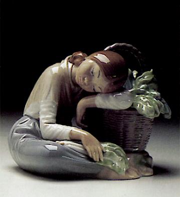 Little Greengrocer Lladro Figurine