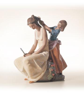 Little Hairdresser Lladro Figurine