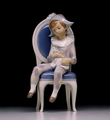 Little Harlequin Lladro Figurine