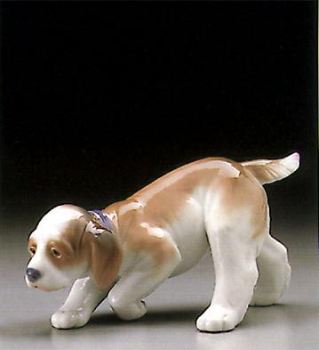 Little Hunter Lladro Figurine