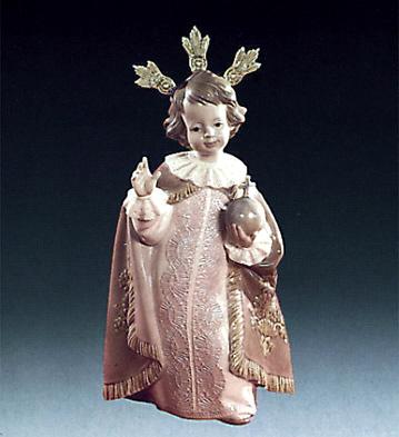 Little Jesus Of Prague Lladro Figurine