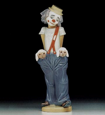 Little Pals Lladro Figurine