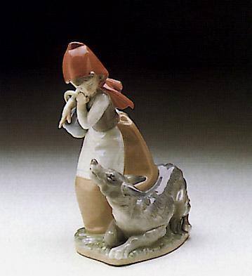 Little Red Hood Lladro Figurine